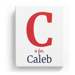 C is for Caleb - Classic