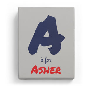 A is for Asher - Artistic