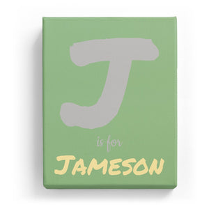 J is for Jameson - Artistic