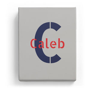 Caleb Overlaid on C - Stylistic