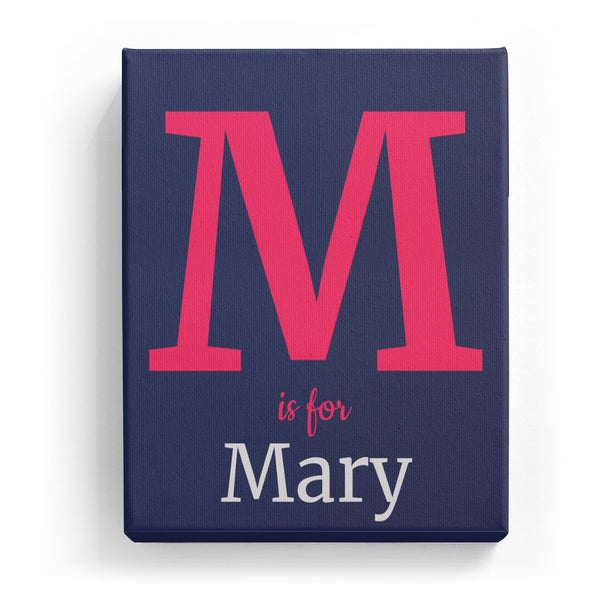 M is for Mary - Classic
