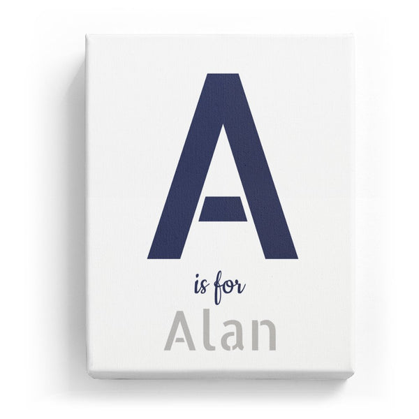A is for Alan - Stylistic
