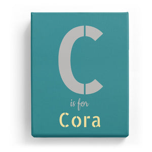 C is for Cora - Stylistic