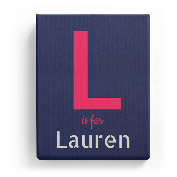 L is for Lauren - Stylistic