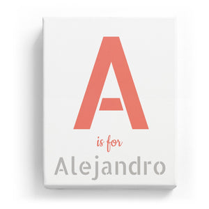 A is for Alejandro - Stylistic