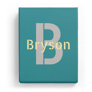 Bryson Overlaid on B - Stylistic