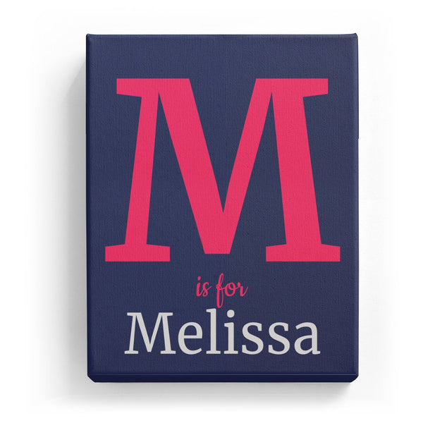 M is for Melissa - Classic