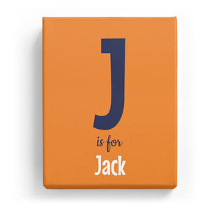 J is for Jack - Cartoony