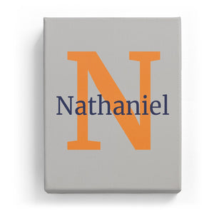 Nathaniel Overlaid on N - Classic