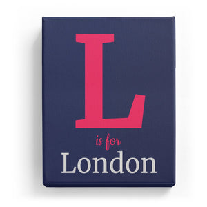 L is for London - Classic