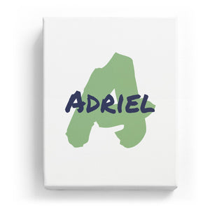 Adriel Overlaid on A - Artistic