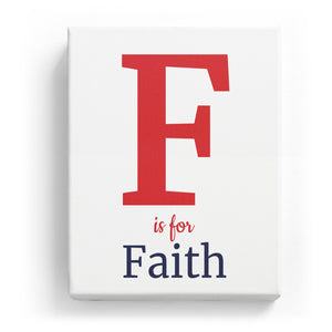 F is for Faith - Classic