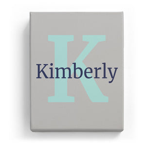Kimberly Overlaid on K - Classic