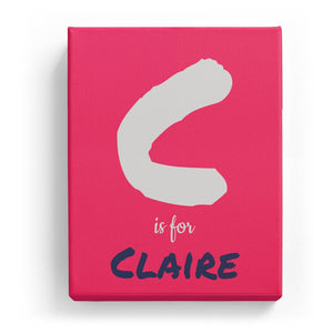 C is for Claire - Artistic
