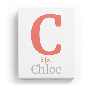 C is for Chloe - Classic