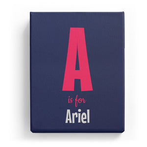 A is for Ariel - Cartoony