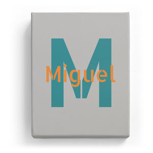 Miguel Overlaid on M - Stylistic