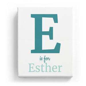 E is for Esther - Classic
