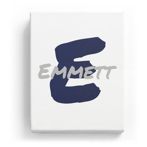 Emmett Overlaid on E - Artistic