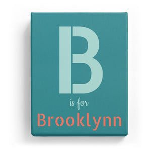 B is for Brooklynn - Stylistic