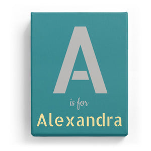A is for Alexandra - Stylistic