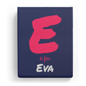 E is for Eva - Artistic