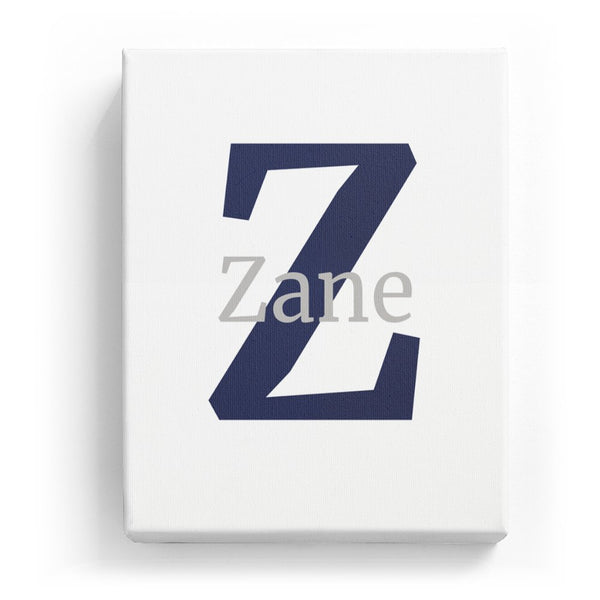 Zane Overlaid on Z - Classic