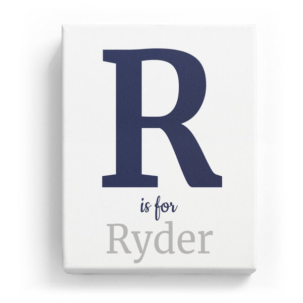 R is for Ryder - Classic