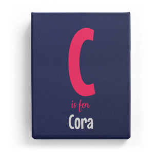 C is for Cora - Cartoony