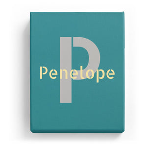 Penelope Overlaid on P - Stylistic