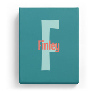 Finley Overlaid on F - Cartoony
