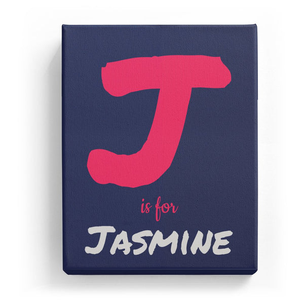 J is for Jasmine - Artistic