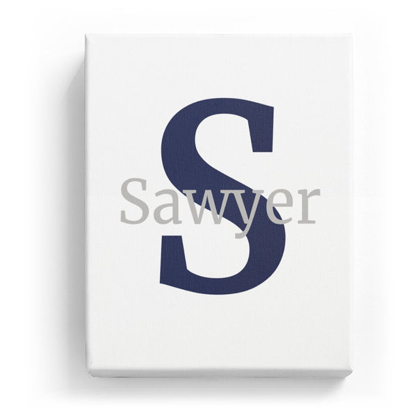 Sawyer Overlaid on S - Classic