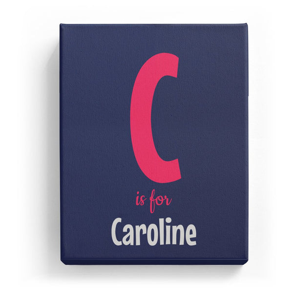 C is for Caroline - Cartoony
