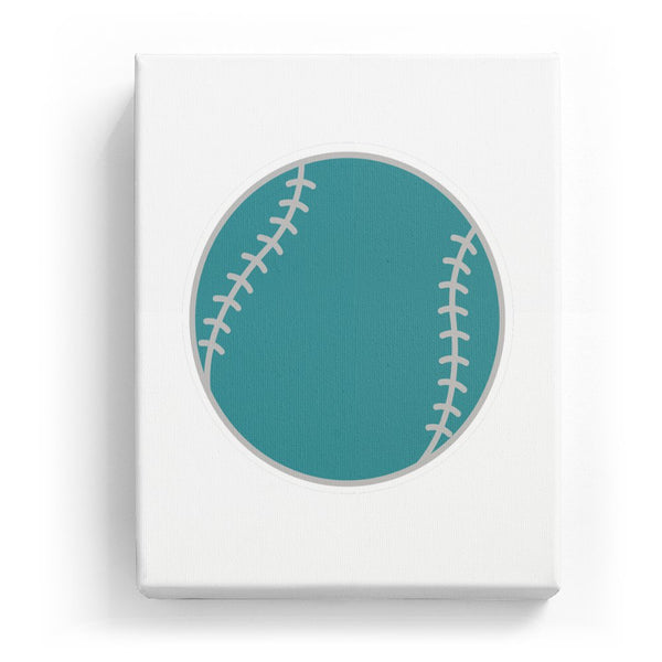 Baseball - No Background (Mirror Image)