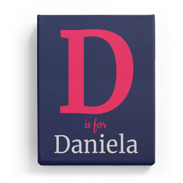 D is for Daniela - Classic