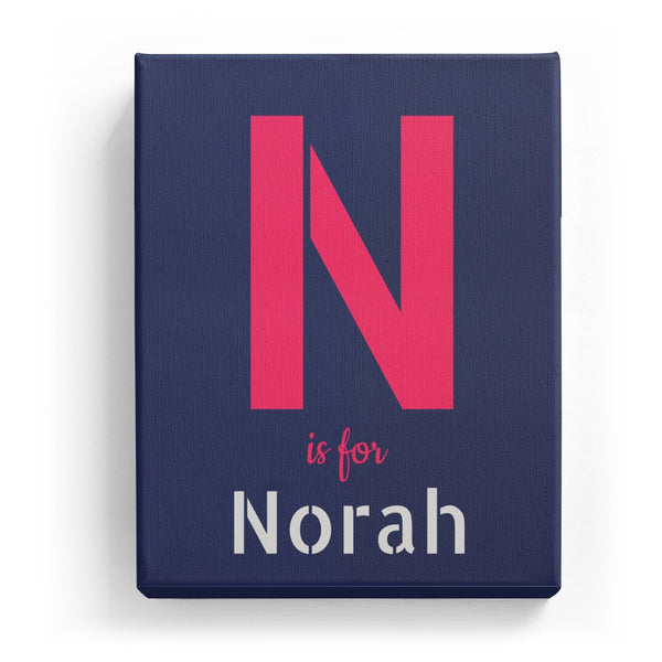 N is for Norah - Stylistic