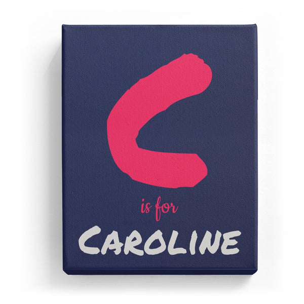 C is for Caroline - Artistic