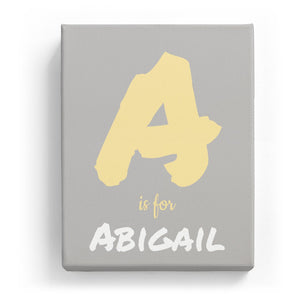 A is for Abigail - Artistic