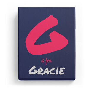 G is for Gracie - Artistic