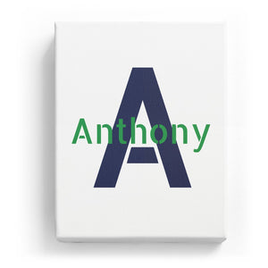 Anthony Overlaid on A - Stylistic