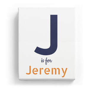 J is for Jeremy - Stylistic