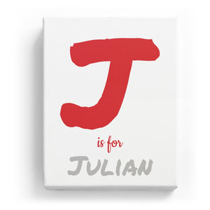 J is for Julian - Artistic