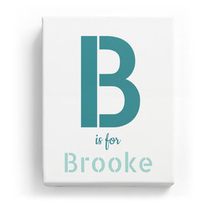 B is for Brooke - Stylistic