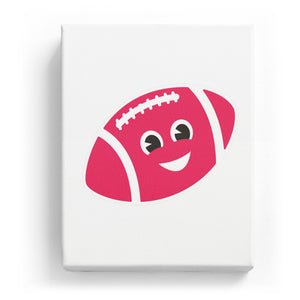 Football with a Face - No Background