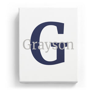 Grayson Overlaid on G - Classic