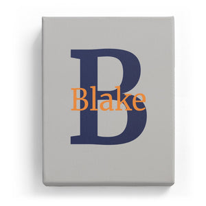 Blake Overlaid on B - Classic