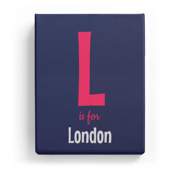 L is for London - Cartoony