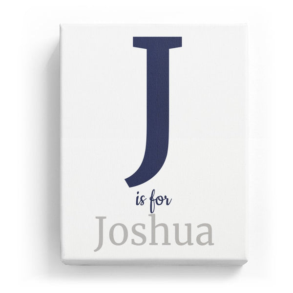 J is for Joshua - Classic