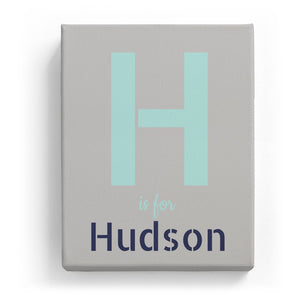 H is for Hudson - Stylistic